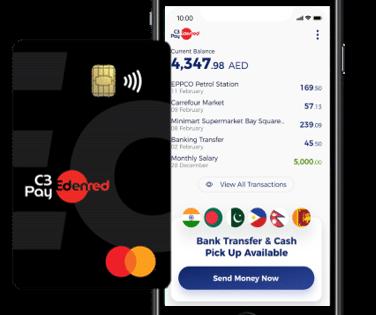 Edenred UAE mobile app