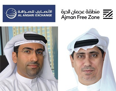 Ajman Free Zone And Al Ansari Exchange Tie Up To Facilitate The Payment Of Company Dues And Fees