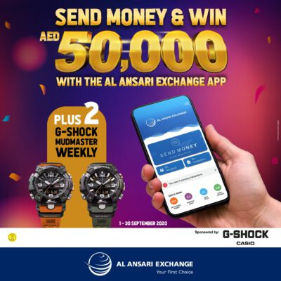 Win AED 50,000 with Al Ansari Exchange!
