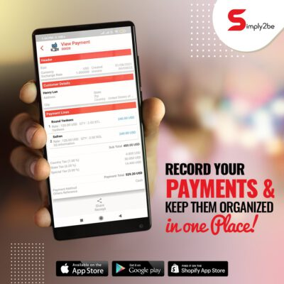 Simply2be is the Best Accounting App