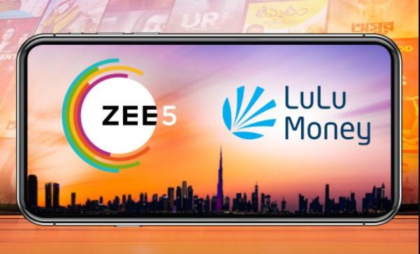 ZEE5 Global partners with Lulu Exchange